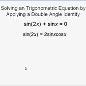 Double angle identities worksheet 9
