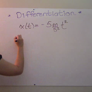 Changing Units Through Differentiation
