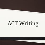 essay act test