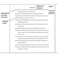 example mla bibliography