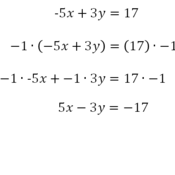 write equation in standard form