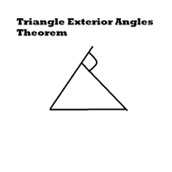 Triangle Exterior Angles Theorem Tutorial Sophia Learning