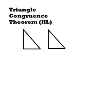 Triangle Congruence Theorem (HL) Tutorials, Quizzes, and