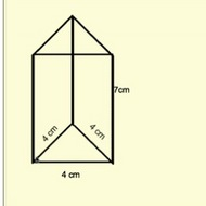 how to find lateral area of a prism