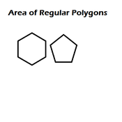 Area of Regular Polygons Tutorials, Quizzes, and Help
