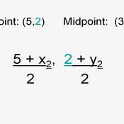 how to find endpoint with midpoint and one endpoint