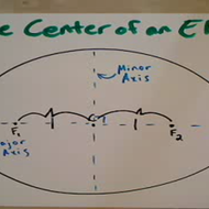 Center of an Ellipse