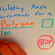 Calculating Angles of a Regular Polygon