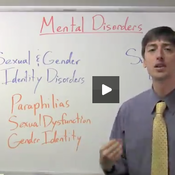 Mental disorders sexual and gender identity disorders and substance