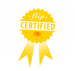 Flip certified badge small2