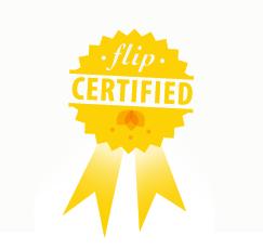 Flip certified badge small2