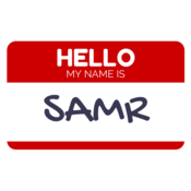Hello, my name is SAMR