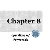 Chapter 8a