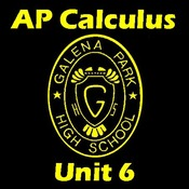 AP Calculus Unit 6. Differential Equations