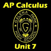 AP Calculus Unit 7, Applications of Integration