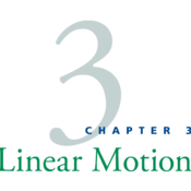 Physics Chapter 03: Linear Motion