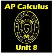 """AP Calculus Unit 8. Integration and L""""Hopital's Rule"""
