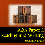 AQA Paper 2 Reading and Writing - Section A and B