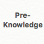 Algebra I Pre-Knowledge