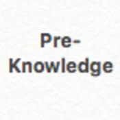 Geometry Pre-Knowledge