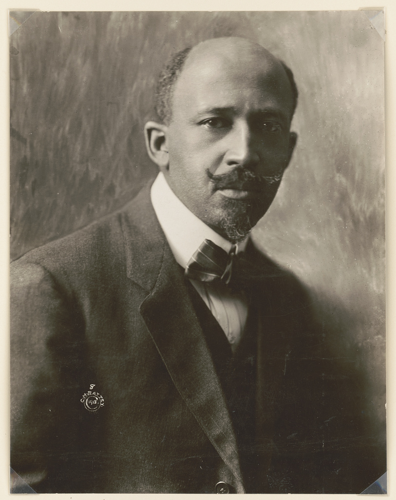 Black-and-white photograph of W.E.B. Du Bois