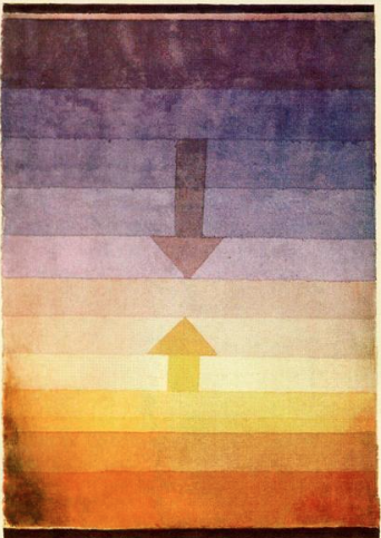 Separation in the Evening by Paul Klee