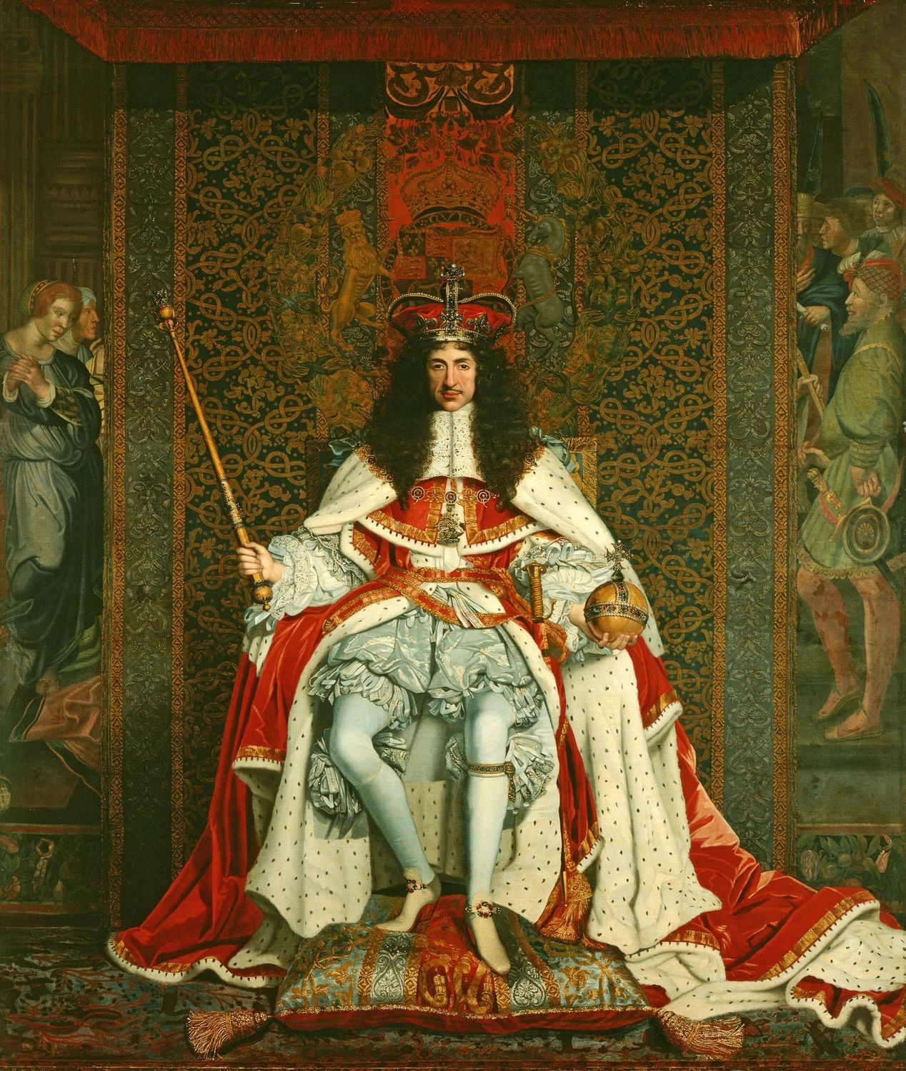 Charles II of England in 1661