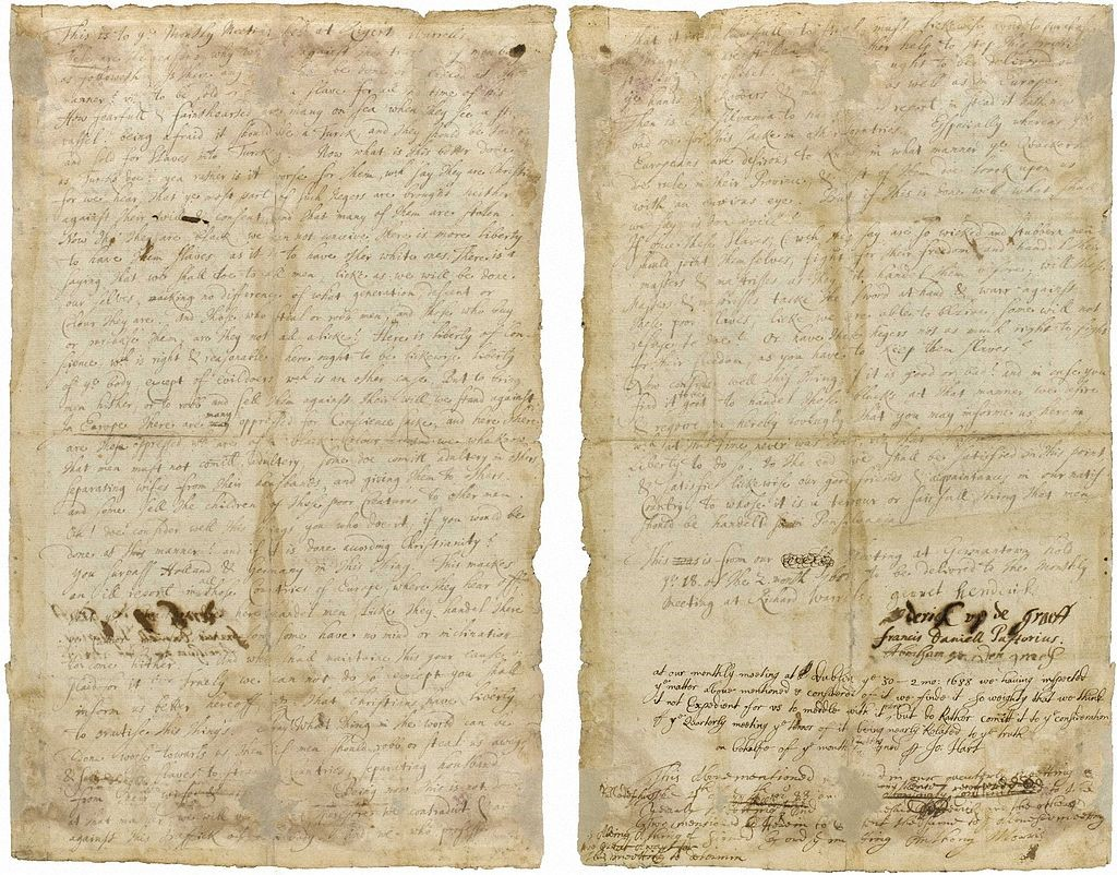 Image of Quaker document