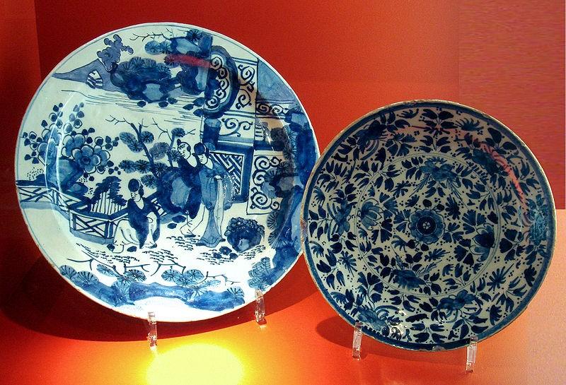 18th-century Delftware.