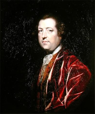 Charles Townshend, chancellor of the exchequer, shown here in a 1765 painting by Joshua Reynolds, instituted a series of measures known as the Townshend Acts to pay for British military and imperial administration in the colonies.