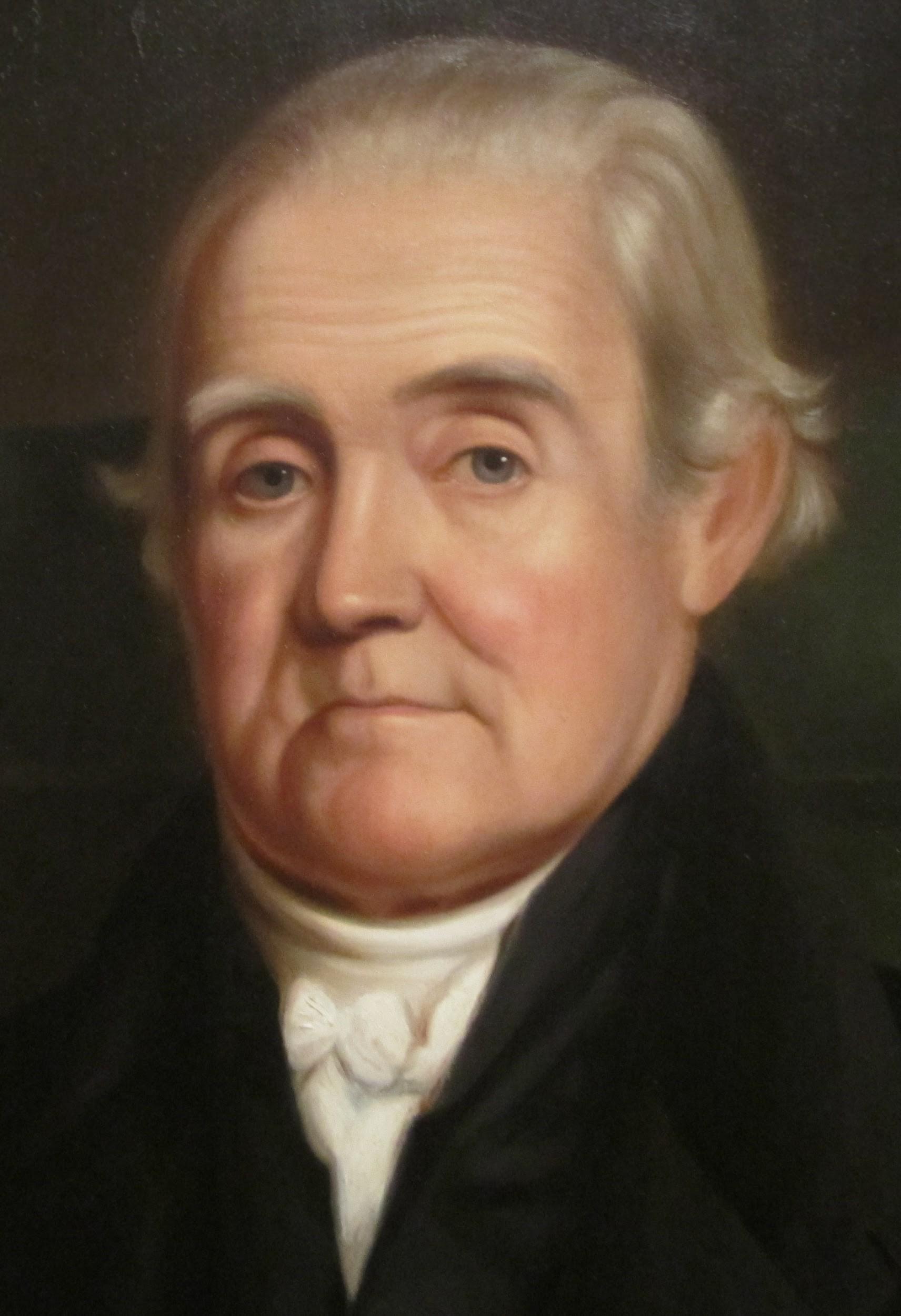 Portrait of Noah Webster by James Herring, 1833.