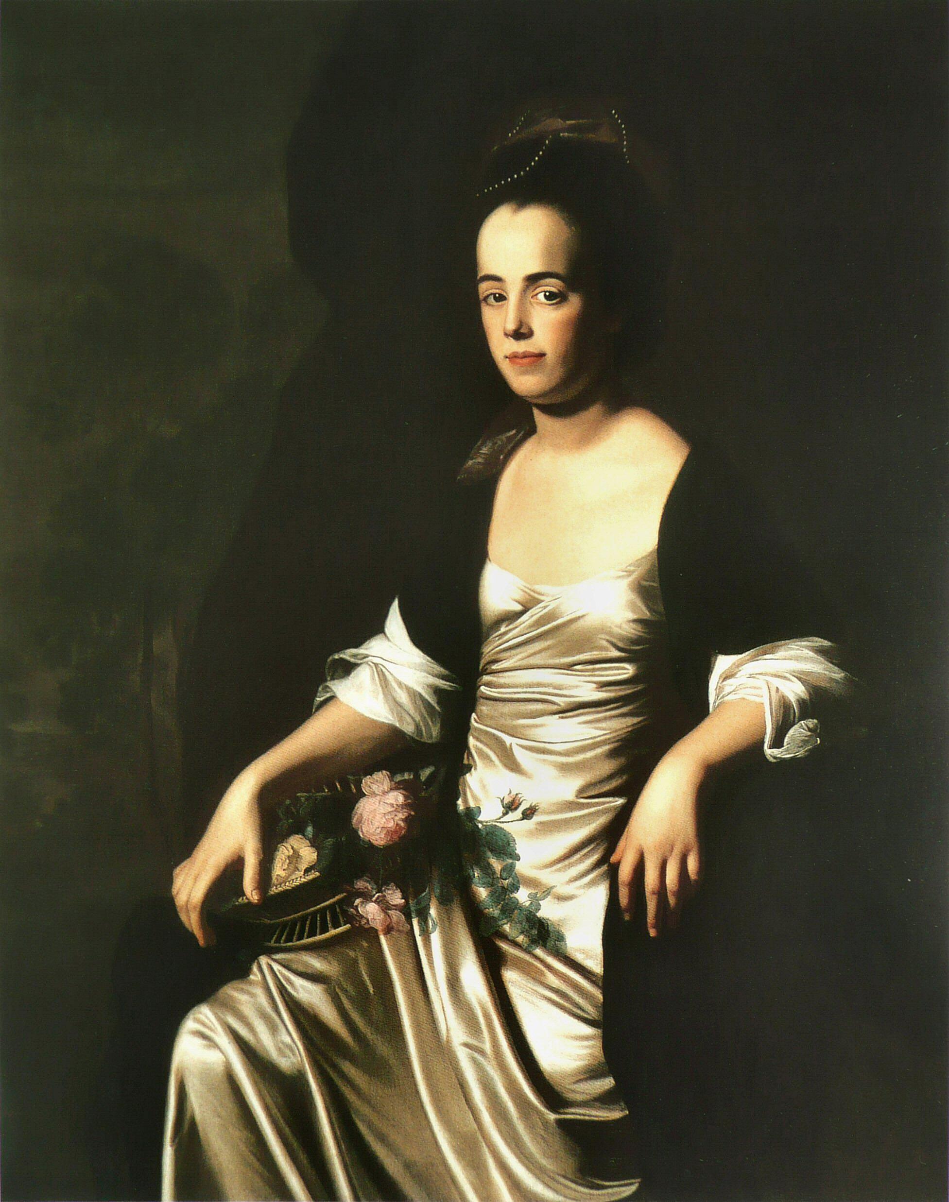 Portrait of Judith Sargent Murray by John Singleton Copley, ca. 1770-1772.