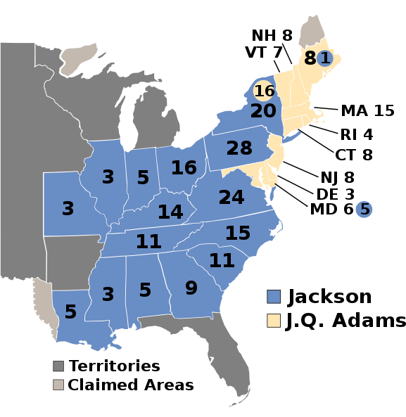 Image of electoral map
