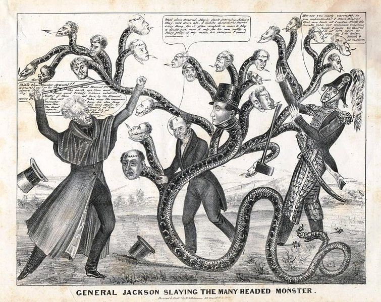 Image of Jackson political cartoon