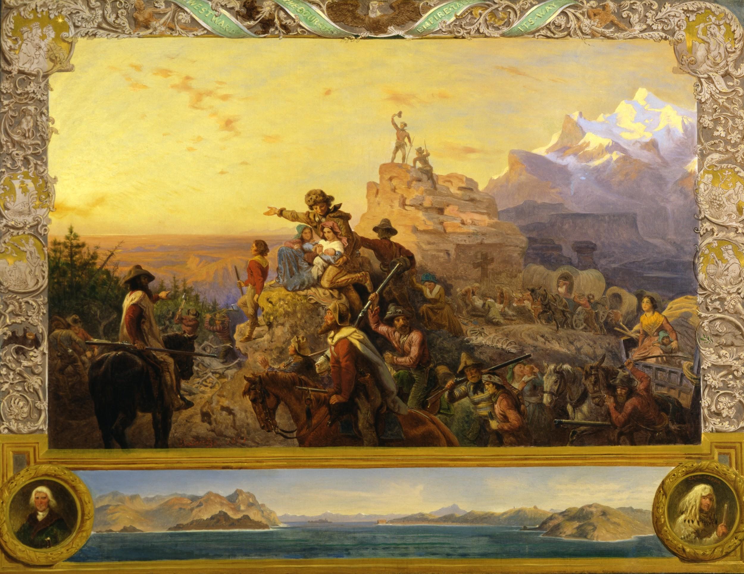 Emanuel Leutze, Westward the Course of Empire Takes Its Way (1861)