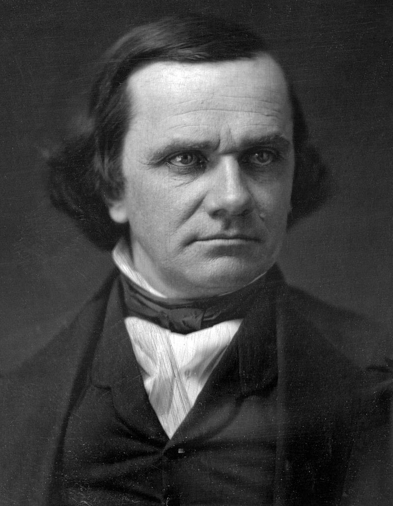 Stephen A. Douglas, Democratic senator from Illinois.