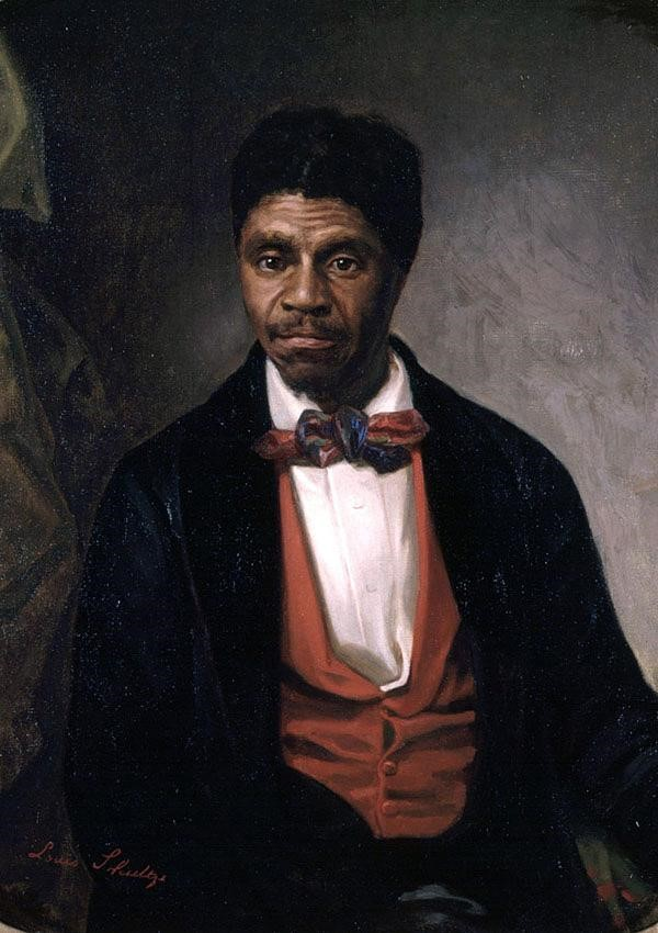 Portrait of Dred Scott by Louis Schutlze, completed in 1888 on behalf of the Missouri Historical Society.