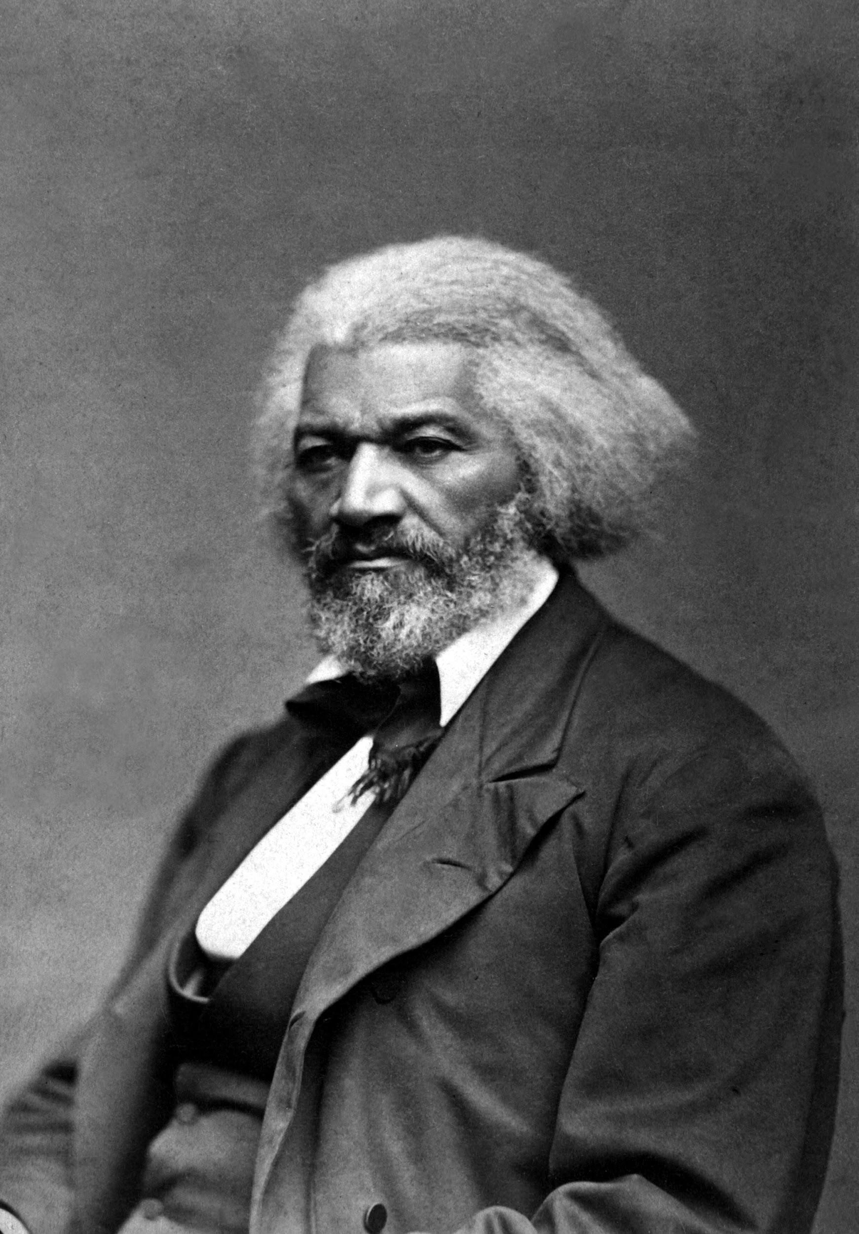 Portrait of Frederick Douglass, ca. 1879.