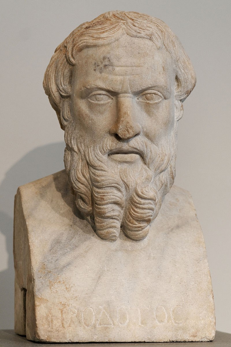 "Herodotus has been called the ""Father of History."" His histories of the ancient world are some of the earliest accounts that treat past events as an important field of study."