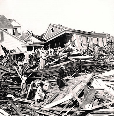 The 1900 hurricane that hit Galveston, Texas, and the surrounding area claimed more lives than any other natural disaster in American history.