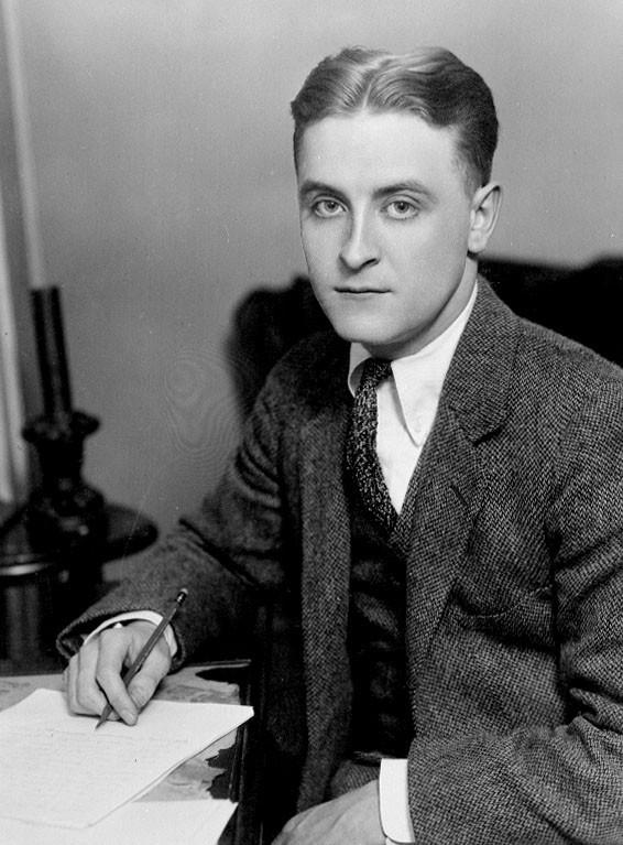 F. Scott Fitzgerald, ca. 1921.