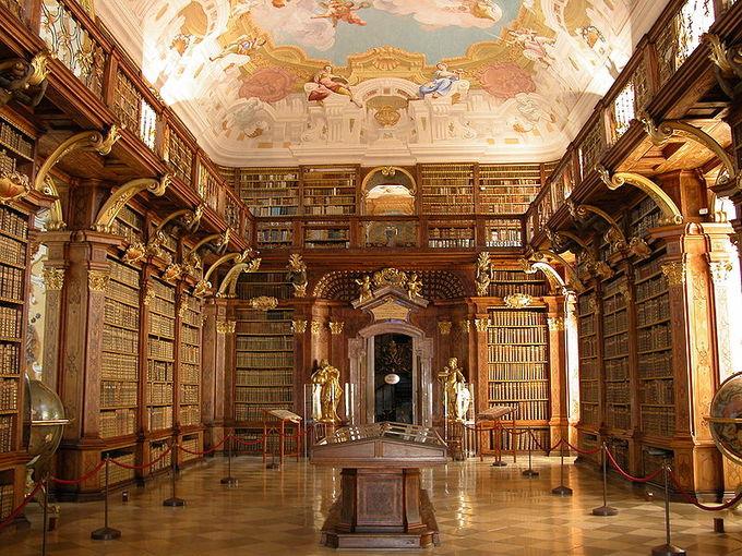 Melk Abbey Library