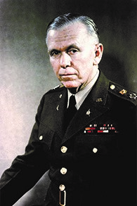 During World War II, George C. Marshall was appointed U.S. Army Chief of Staff by President Roosevelt. As Secretary of State under Truman, he helped to create the European Recovery Program to aid struggling European economies after the war.