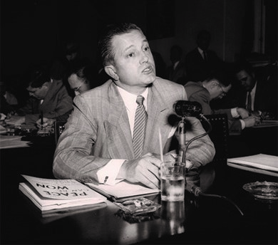 "One of the original Hollywood Ten, director Edward Dmytryk later admitted that he had been a member of the Communist Party. In April of 1951, he appeared before the committee and ""named names"", identifying other communists during his testimony."