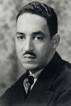 Thurgood Marshall in 1936, when he began his career with the NAACP.