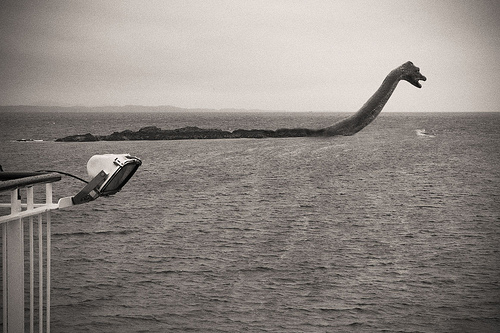 The existence of the Loch Ness Monster is a question of fact.