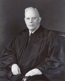 Chief Justice Earl Warren served on the Supreme Court from 1953 to 1969.