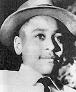 Photograph of Emmett Till from 1954.