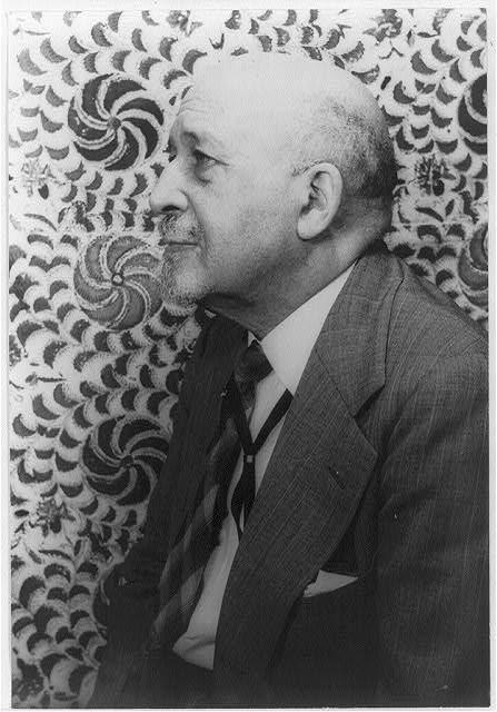 Photograph of W. E. B. Du Bois taken by Carl Van Vechten in 1946.
