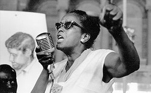 Photograph of Ella Baker, one of the founders of SNCC.